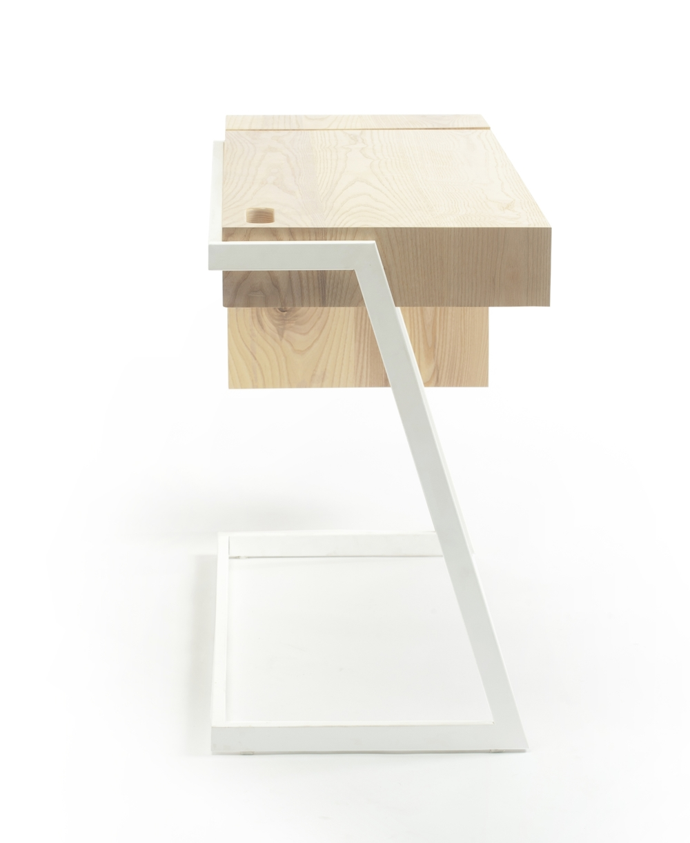 { 			The Cantilever Desk}